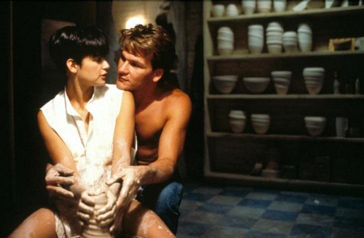Demi Moore e Patrick Swayze, em Ghost: 27 e 28 de setembro e 1 de outubro