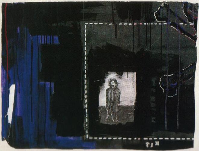 Outra tela aprovada: Johnny Depp e seu expressionismo abstrato merecem um lugar de honra