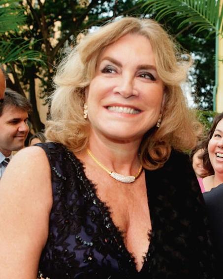 Deuzeni Goldman: apoio ao candidato Andrea Matarazzo desagradou Bia e João Doria (Foto: Greg Salibian/Folhapress)