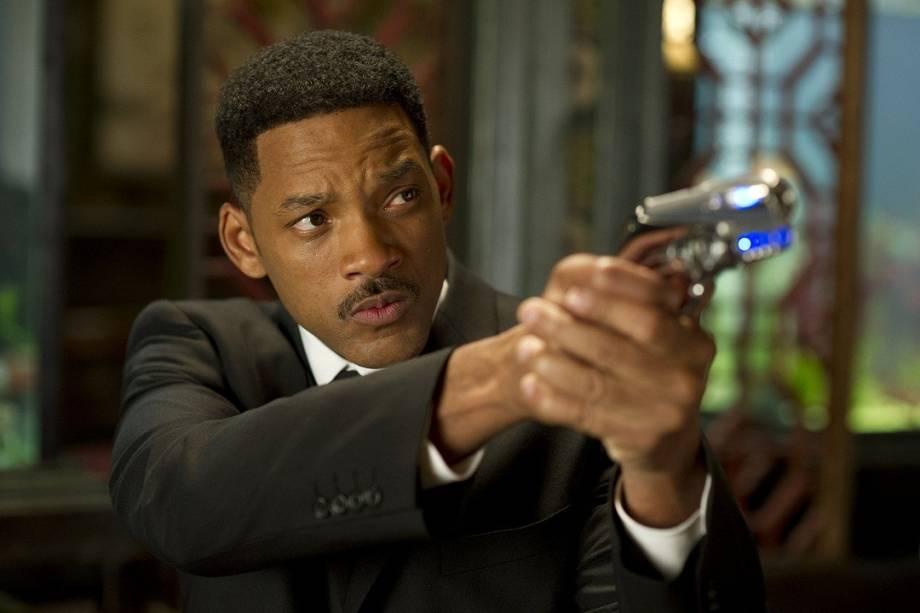 Em Homens de Preto 3, o agente J (Will Smith)  terá que viajar no tempo