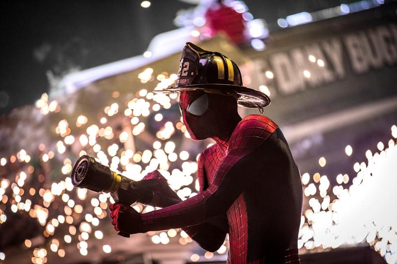 Cena do filme O Espetacular Homem-Aranha 2 - A Ameaça de Electro