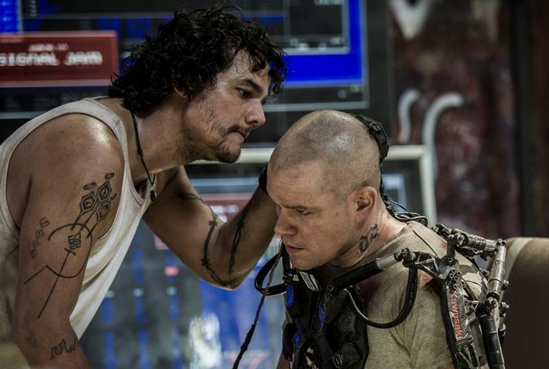 Elysium: A ficção científica Elysium é estrelada por Wagner Moura e Matt Damon