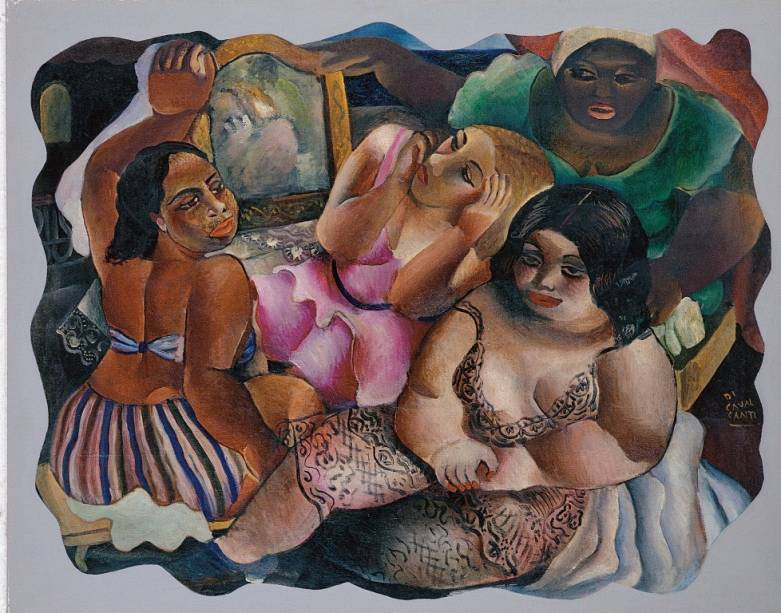 Bordel (década de 1930), de Di Cavalcanti