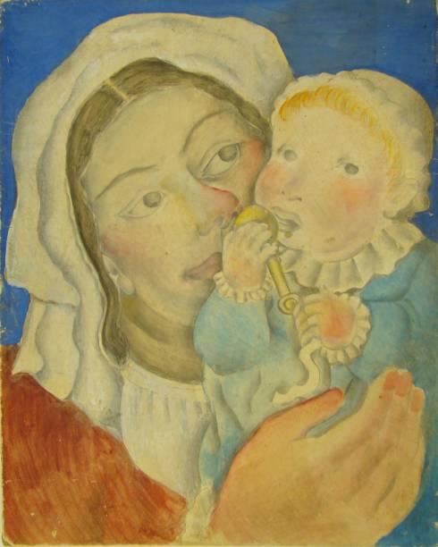 Sem título (Mulher e Criança), 1927
