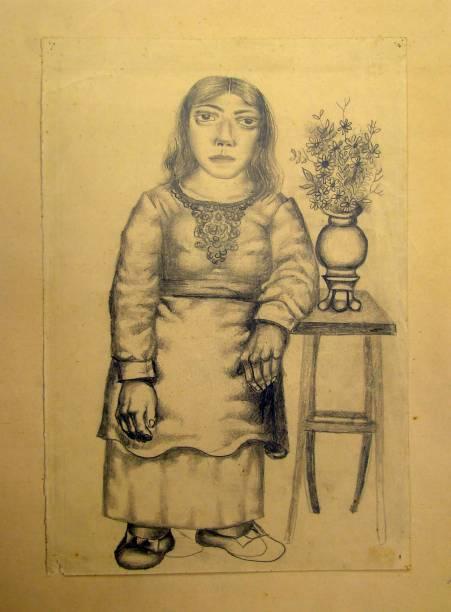 Sem título (Menina Portuguesa), 1934