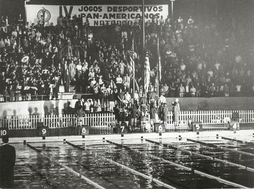 O local em 1963: provas dos Jogos Pan-Americanos (Foto: Estadão Conteúdo)