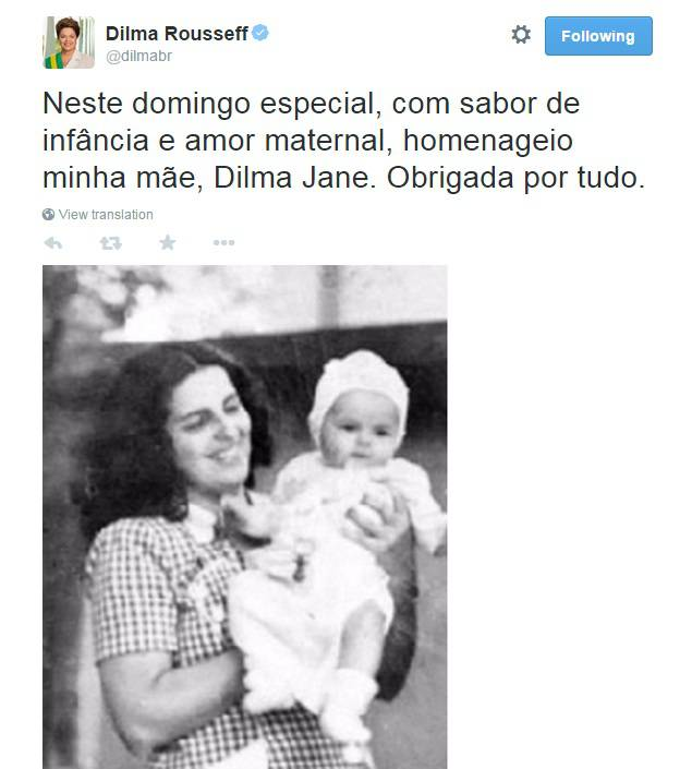 dilma-mae-foto-twitter
