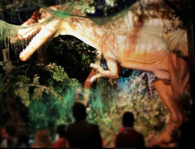 Exposição Era T-Rex