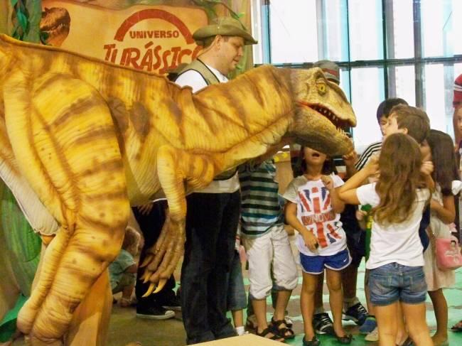 Dinossauro - Shopping Ibirapuera