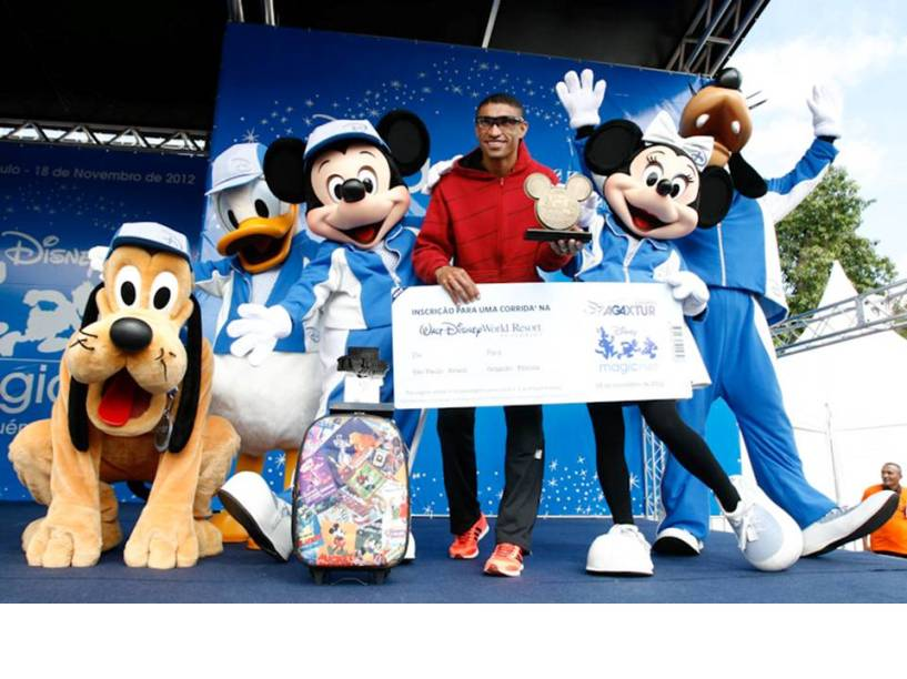Disney Magic Run 2013 ocorre no dia 1º de setembro