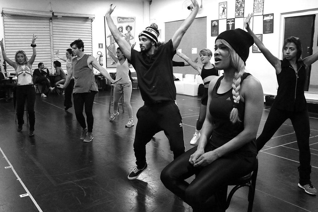 """""""Divas - O Musical"""": ensaios, dirigidos por Jarbas Homem de Mello, em São Paulo"""