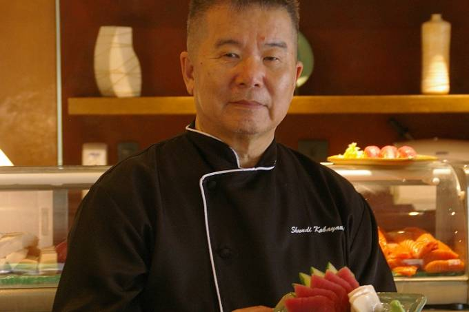 Koabayashi: no comando do rodízio (Foto: divulagação)