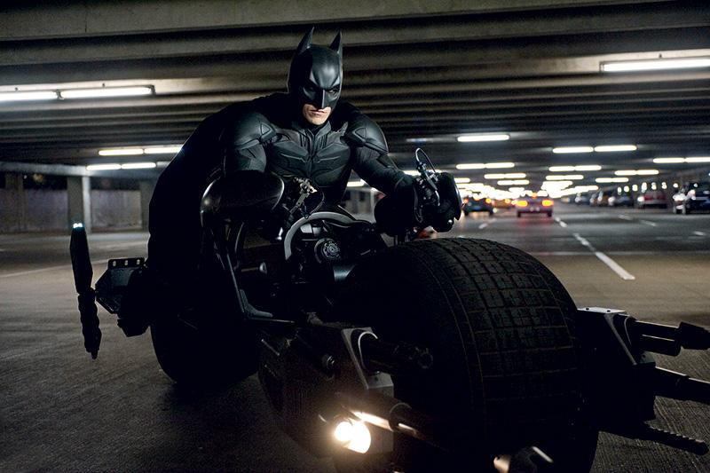 Christian Bale em Batman — O Cavaleiro das Trevas Ressurge