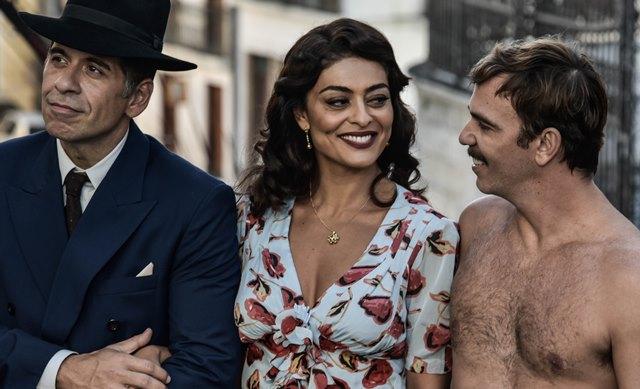 Leandro Hassum, Juliana Paes e Marcelo Faria em cena do novo 'Dona Flor e seus Dois Maridos'