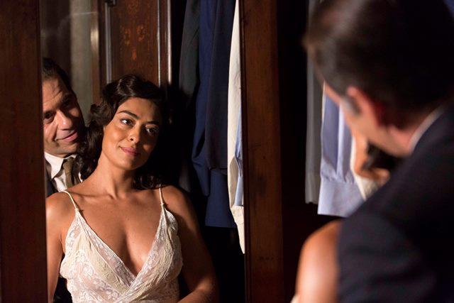 Juliana Paes em cena do filme (cred: Fabio Bouzas)