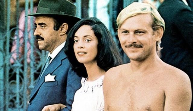 Mauro Mendonça, Sonia Braga e José Wilker na versão de 1976