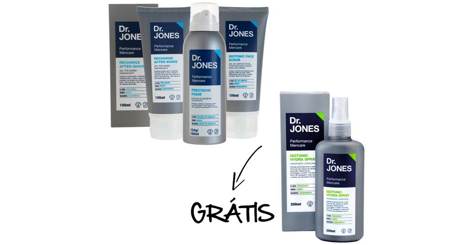 Men's Market: O kit de barbear da Dr. Jones é ideal para carregar no dia a dia. De R$ 155,60 por R$ 93,36 (40% off)