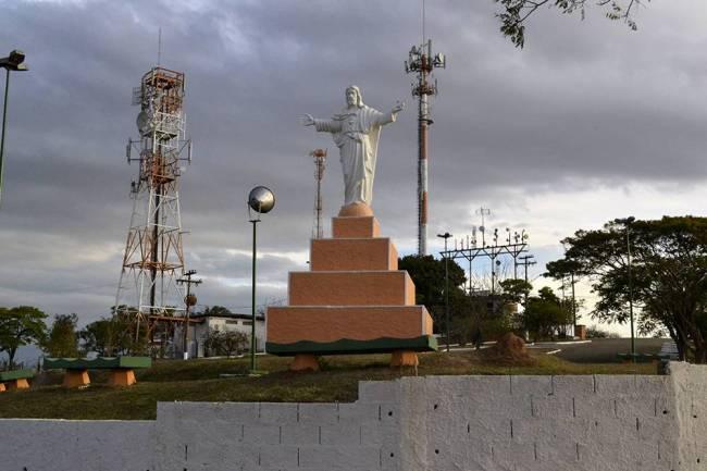 Pedreira - Morro do Cristo