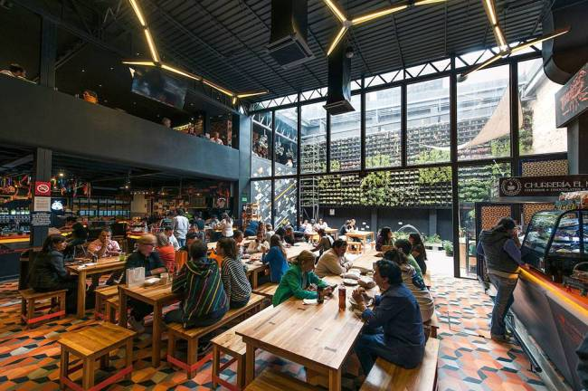Salão do Mercado Roma - Cidade do México