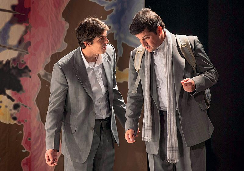 Rafael Infante e Marcelo Serrado: nos papéis de Tom Cruise e Dustin Hoffman