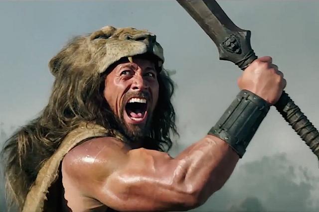 Dwayne Johnson em cena do filme 'Hércules'