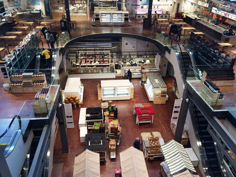 Shopping da gastronomia italiana: de portas abertas