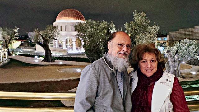 Edir Macedo e a mulher, Ester: mais de 10 000 pessoas por dia (Foto: reprodução)