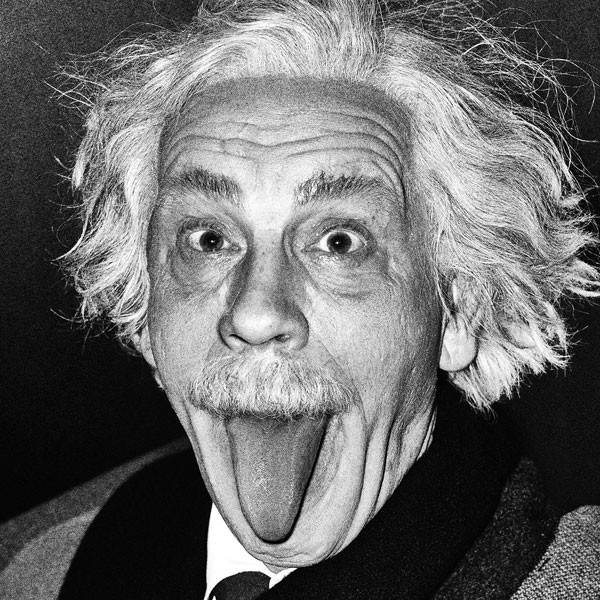 Arthur Sasse / Albert Einstein, de 1951