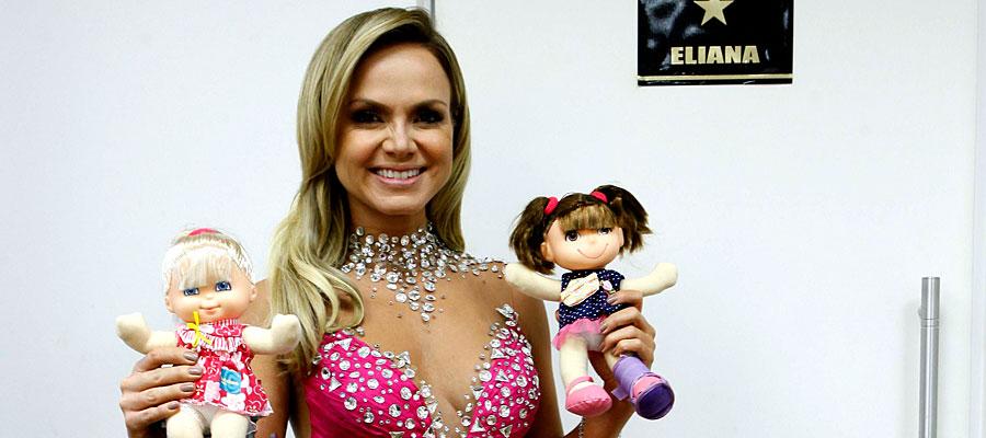 Eliana no programa Teleton ( Lourival Ribeiro/SBT)