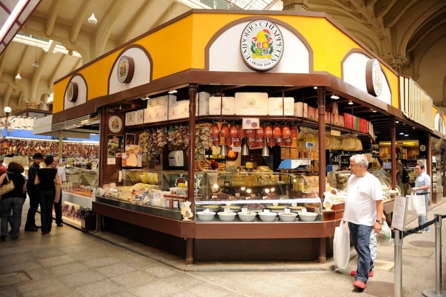 Empório Chiappetta: uma das bancas mais antigas do Mercado Municipal