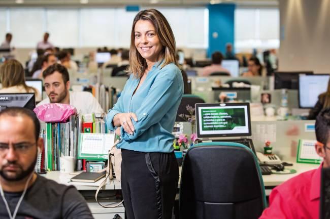 Adriana Garcia, da Mexichem: a única empresa do complexo (Foto: Leo Martins)