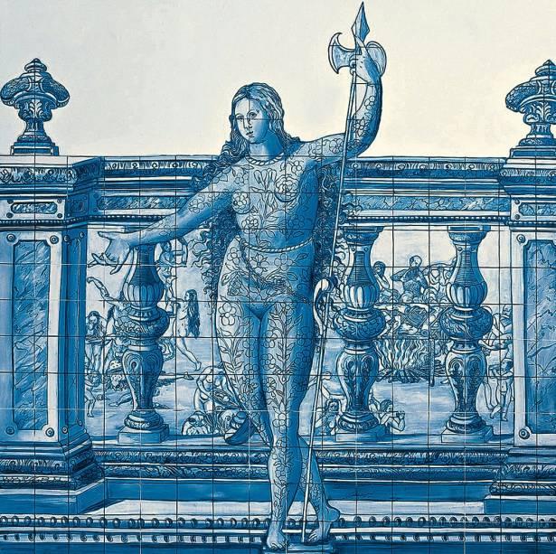 Entrance Figure, de Adriana Varejão