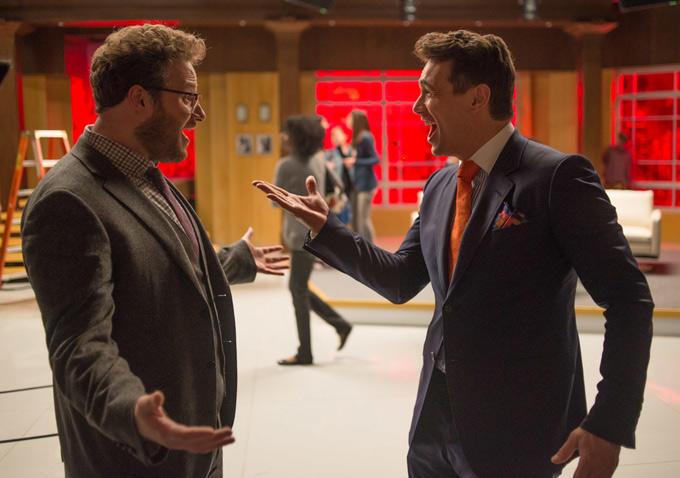 Seth Rogen e James Franco estrelam A Entrevista