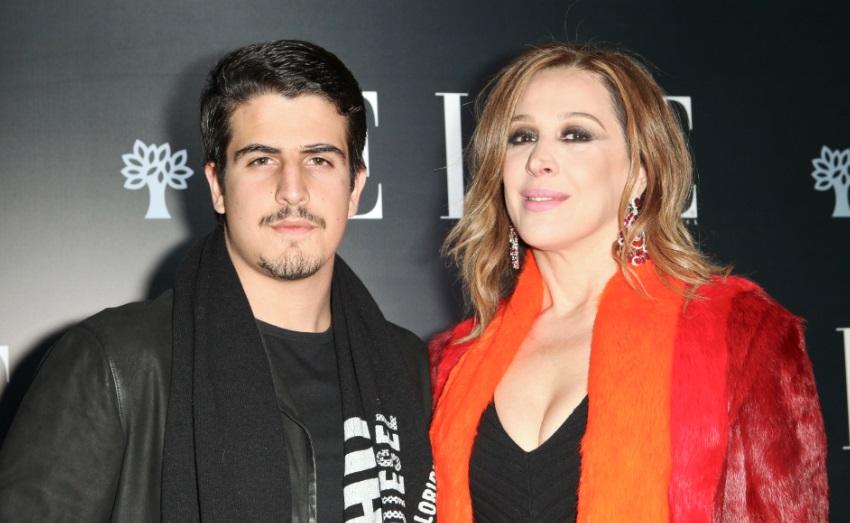 Enzo Celulari e Claudia Raia: dá para acreditar que ele s´po tem 19 anos? (Foto: Mariana Pekin)