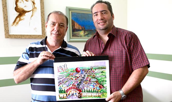 Paulo Meirelles e Mauro Morata sócios da Soft Love Brasil e idealizadores do ErotikaLand (Foto: Divulgação)