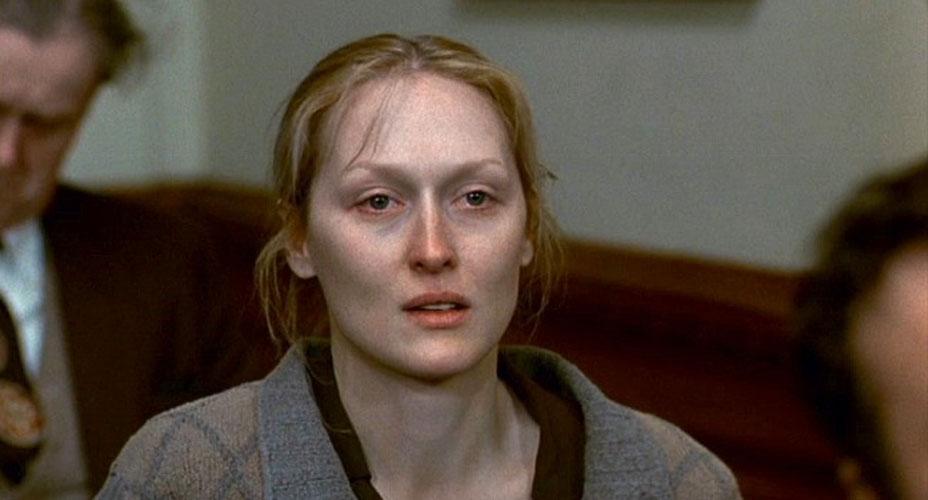 1983 - A Escolha de Sophia: primeiro Oscar de melhor atriz