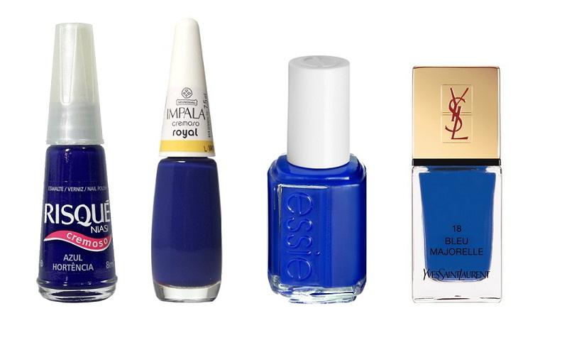 Esmalte Azul - Giovanna Antonelli - Alternativas