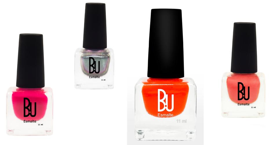 A marca BU uniu a tendência dos esmaltes candy colors e metalizados para os lançamentos de verão 2015. As cores Sereia, Poseidon, Orange cool e Doris são as apostas da marca na temporada. Preço sugerido: R$ 7 (cremosos) e R$ 10 (metalizado)