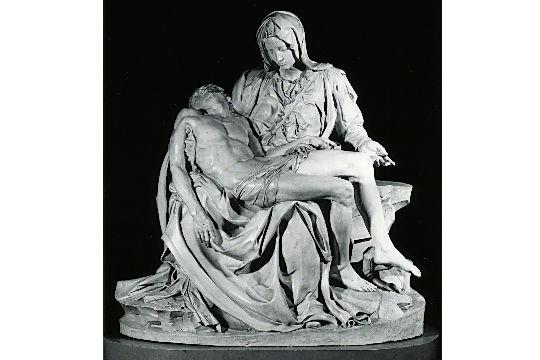 Pietà, de Michelangelo Buonarroti, molde de 1975, feito a partir do molde de 1930, feito a partir do original de 1499