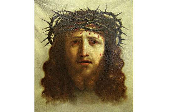 Retrato de Cristo com a Coroa de Espinhos (A Verônica de Guercino)