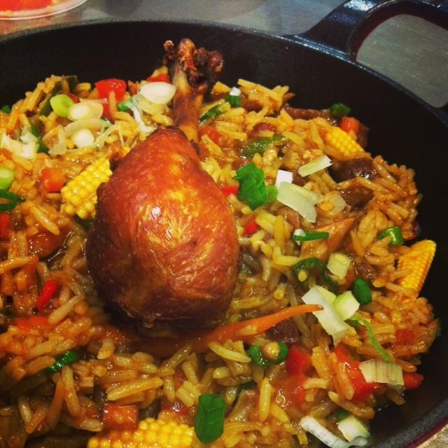 Esquina Mocotó: arroz de galinheiro é novidade no cardápio (Foto: Rodrigo Oliveira)