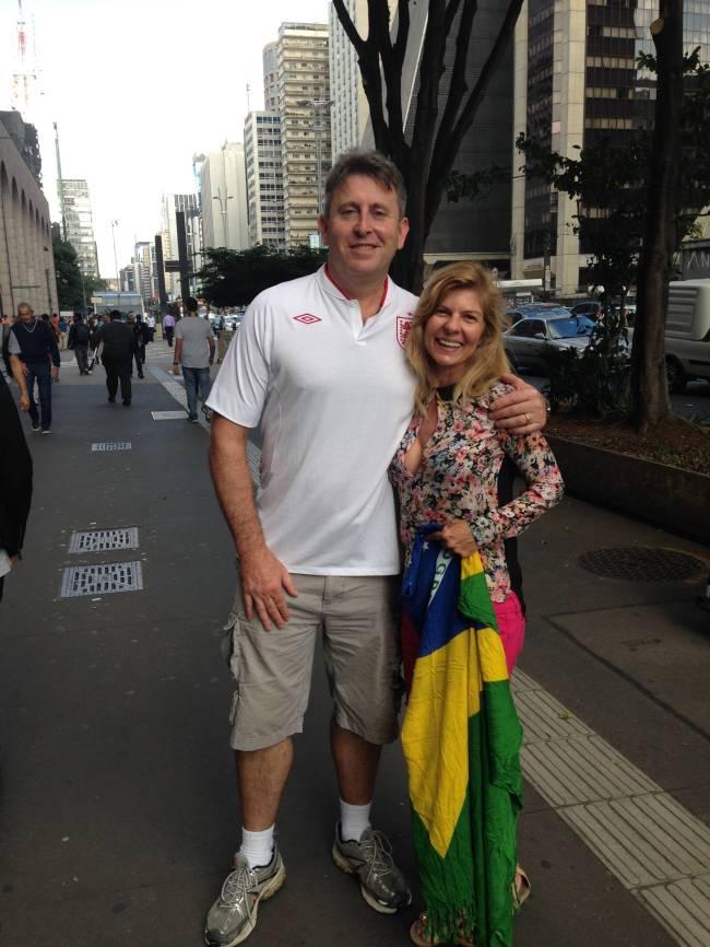 estrangeiros - inglês - Copa do Mundo - Avenida Paulista