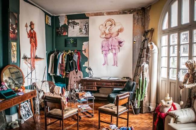 estúdio lâmina