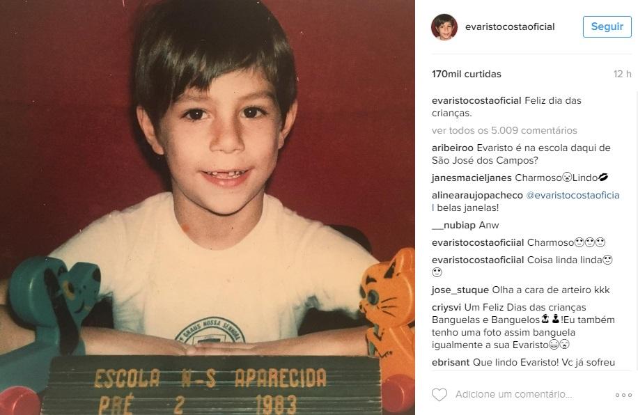 Evaristo Instagram
