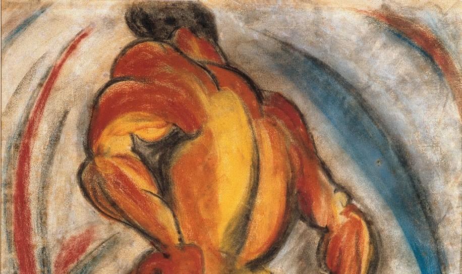 Torso/Ritmo, de Anita Malfatti