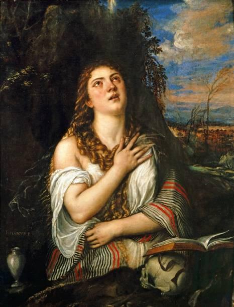 Madalena, de Ticiano: é difícil ficar imune à beleza deste óleo