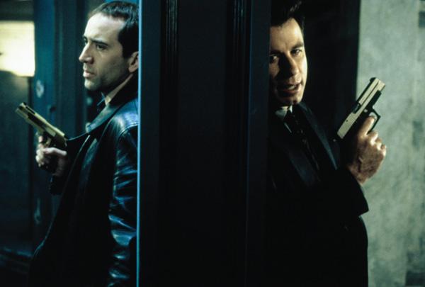 A Outra Face (1997), ao lado de Nicolas Cage: mais um acerto de John Woo