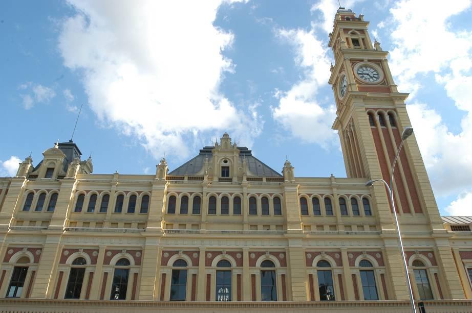 Símbolo da capital paulista: atual Estação da Luz foi aberta ao público em 1º de março de 1901