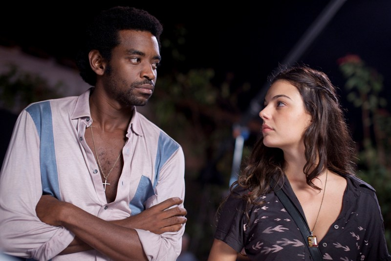 Os atores Fabrício Boliveira e Isis Valverde: western abrasileirado