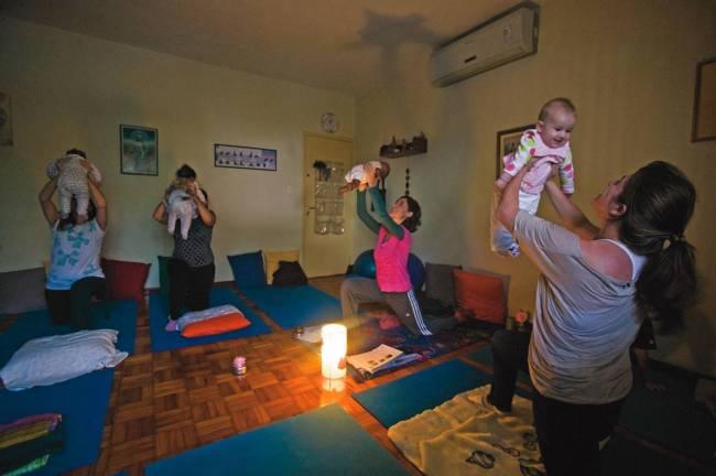 Baby yoga - COMPORTAMENTO - 2229